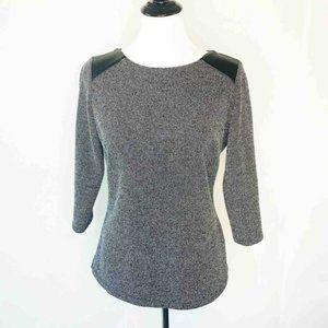M&S Collection Black Gray Melange 4